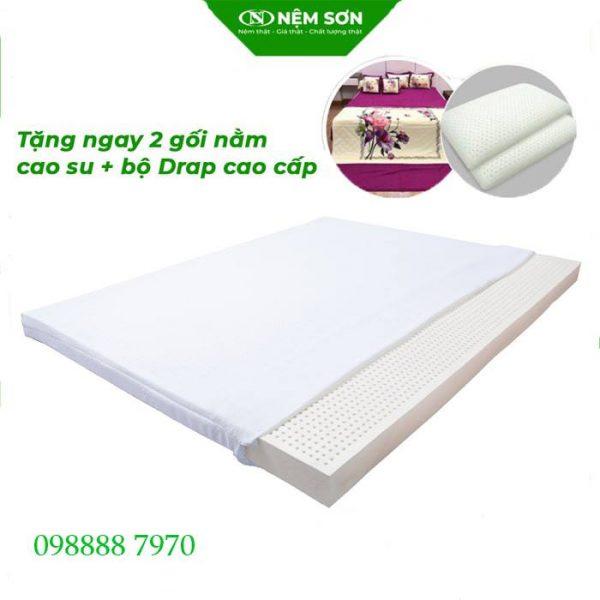 Nệm Cao Su Nệm Sơn White Latex 2