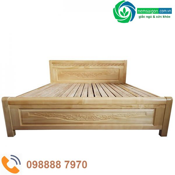 Giường Ngủ Gỗ Sồi Nga Giá Rẻ 2