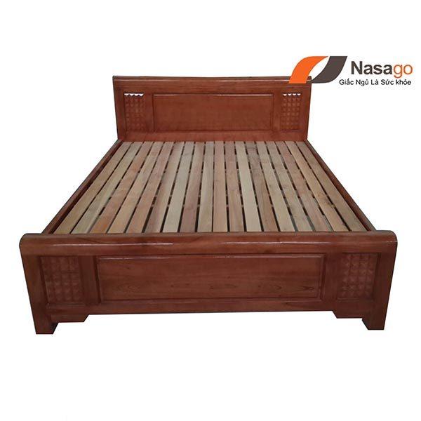 Giường Ngủ Gỗ Xoan Đào Giá Rẻ 3