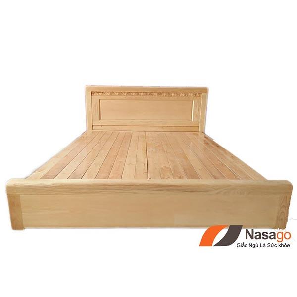 Giường Ngủ Gỗ Sồi Vạt Phản 1