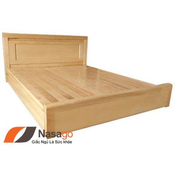 Giường Ngủ Gỗ Sồi Vạt Phản 2